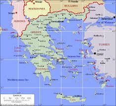 greece map political greece nektarina non profit