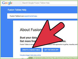 Google Fusion Tables Map How To Create A Google Map With Excel Data And Fusion Tables