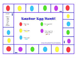 easter egg hunt ideas free easter egg hunt game preschool powol packets