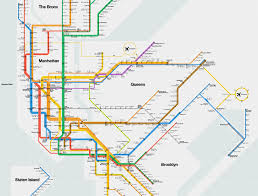 Brooklyn Subway Map by Massimo Vignelli U0027s Signed 2012 Nyc Subway Diagram Cool Hunting