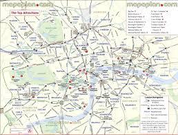 Navigation Map London Map City Sightseeing Highlights 3 Day Trip Itinerary