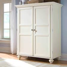 White Distressed Desk by Natural Wood Armoire Splashy Computer In Home Office Dallas With