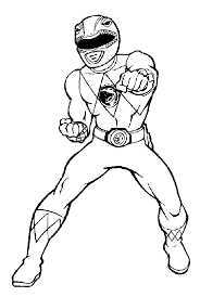 power ranger coloring pages red rangers coloringstar