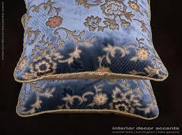 Designer Throw Pillows For Sofa by Scalamandre Sculpted Silk Velvet Lee Jofa Designer Pillows