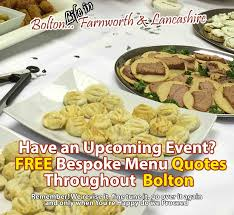 catering service and buffet caterer for farnworth lostock