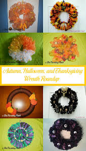 thanksgiving wreath autumn and thanksgiving wreath roundup parenting patch