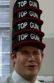 Meme Snapback - top gun hat know your meme