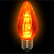 Red Led Light Bulb by Amber Led F15 Light Bulbs 15 Watts