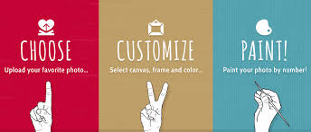 personalize a custom paint by number kit easy 123 art