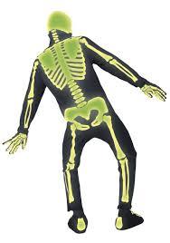 skeleton bones halloween glow in the dark skeleton costume men u0027s skeleton halloween costume