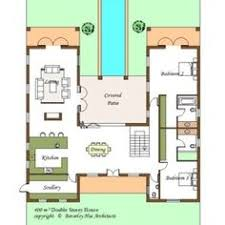 u shaped house plans with pool typical u shaped house plan floor plans pinterest architects