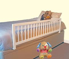 wooden bed rails safetots extra wide wooden bed rail white amazon co uk baby