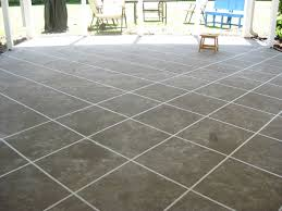 Diy Cement Patio by Easy To Do Cement Patio Idea Amazing Home Decor