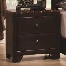 nightstand dark brown cherry nightstands tall dark brown