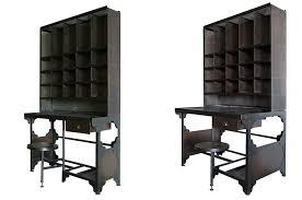 bureau de style bureau metal industriel cool bureau mtal blanc style industriel