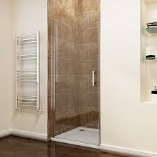 Shower Door 700mm 700mm Frameless Pivot Shower Door Enclosure Glass Reversible