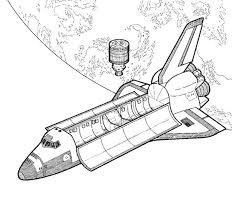 Snap Coloriage Lancement de la navette spatiale Coloriages