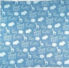 baby boy wrapping paper blue sweet baby boy animals 12x12 scrapbook paper 4 sheets