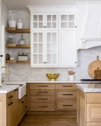 white oak wood kitchen cabinets 5 white marble and wood kitchens we kitchen design