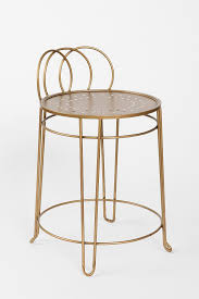 Vanity Stools And Chairs Plum U0026 Bow Wire Loop Chair Urban Outfitters Vanity Stool Needs