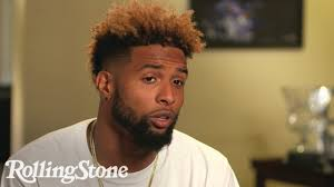 odell beckham hairstyle odell beckham jr talks about how drake inspires him on off the