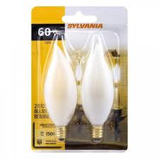 small incandescent light bulb sylvania decor small base incandescent light bulb 2 pk lighting