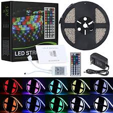 color changing led strip lights with remote lwin rgb led strip light kit with 16 4ft dc 12v flexible ip65