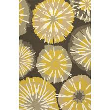 Yellow And Gray Outdoor Rug Jaipur Rugs Barcelona Starburst 2 X 3 Indoor Outdoor Rug Yellow
