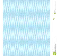 Blue Pattern Background Seamless Sea Pattern Light Blue Waves On White Stock Vector
