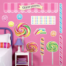 candy shoppe giant wall decals birthdayexpress com candy shoppe giant wall decals