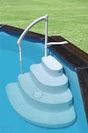 pool treppe einstell treppe welle für aufstellbecken schwimmbadbau pool