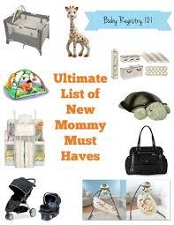 top baby registry baby registry essentials list of must haves