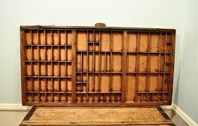 wooden printers tray designs
