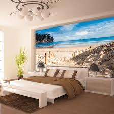 wandbild schlafzimmer poster wandbild tapeten fototapete wasser meer strand sandstrand