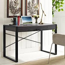 Office Desks With Storage by Walker Edison Furniture Company Home Office Charcoal Desk With