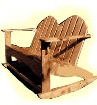 Composite Adirondack Rocking Chairs Double Adirondack Rocker Plans Woodworking Ideas Pinterest