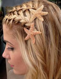 starfish hair clip best 25 mermaid hair accessories ideas on diy mermaid