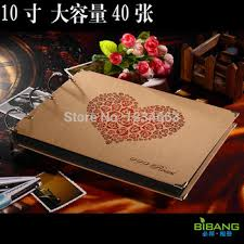 high capacity photo album buy diy handmade leaf photo album black card in cheap price