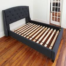 Slat Frame Bed Alwyn Home Attached Solid Wood Bed Support Slats Bunkie Board