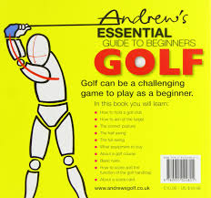 andrew u0027s essential guide to beginners golf amazon co uk charles