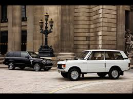 old white land rover 2010 land rover range rover autobiography black classic front