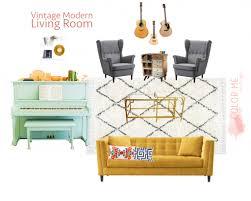 vintage modern living room a vintage modern living room design
