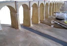 decoration arcade platre le p u0027tit train de jean pierre le viaduc de la manse 15