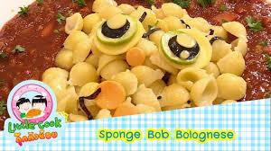 bob cuisine sponge bob bolognese cook ก กต วน อย