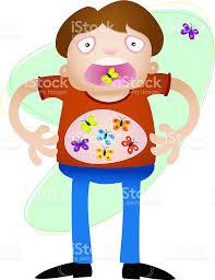 butterflies in your stomach stock vector art 112277285 istock