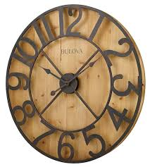 oversized wall clock be equipped retro wall clock be equipped