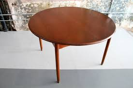 danish teak dining table by willy beck circa modern