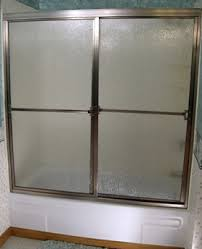 Sliding Bathtub Shower Doors Craftsman Builder Series Crbt 5 32 Glass Contractor Grade Framed