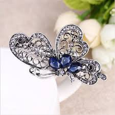 luxury hair accessories fashion butterfly hair clip luxury hair accessories women trendy