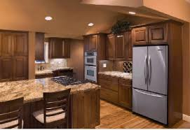 elegant kitchen cabinets las vegas this custom kitchen in las vegas has staggered cabinet heights it